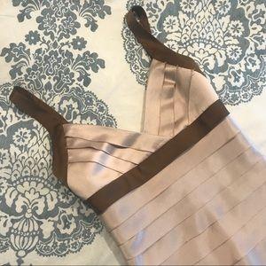 BCBG Dresses - BCBG Max Azria • NWT Tiered Champagne Dress